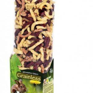 JR Farm Gnaver Snack Godbidder Rübli Sticks - Med Grøntsager - 100g - - - - -