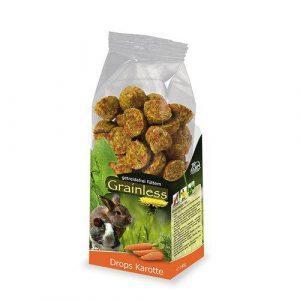 JR Farm Grainless Drops Gulerødder 140g
