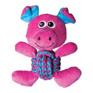 KONG Weave Knots Pig