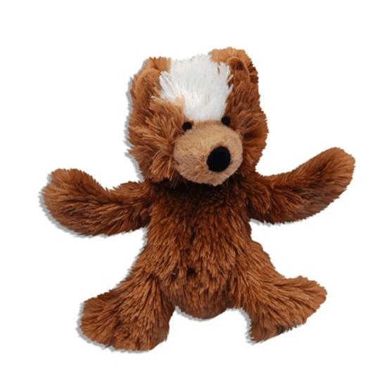 Kong Plush Teddy Bear med udskiftelig piv - X-small