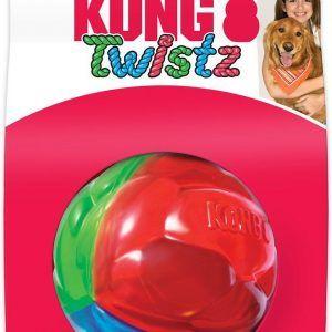 Kong Twistz Ball, str. Ø 7,5 cm