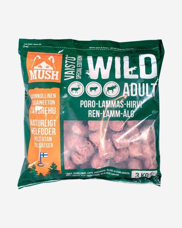 MUSH Vaisto - Wild - Vildt & Lam - 3kg