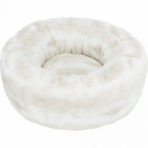 Nelli Donut Seng Ø 50cm, Hvid/Taupe