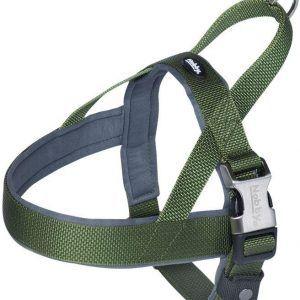 Nobby Royal Norsk Hundesele - Med Blød Neopren - Grøn - Flere Størrelser