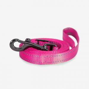 Nylon Line Justerbar - Dogman - Pink, 120-200cm 10mm