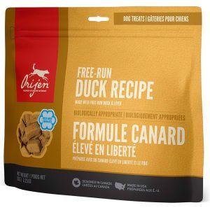 Orijen Free-Run Duck Treats frysetørret, 92 gr.