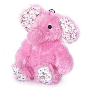 Petcare Hundelegetøjs Bamse Den hyggelige Elefant - 30cm - Pink