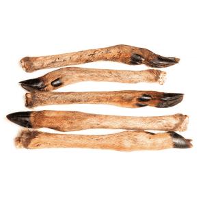 Rådyr underben med pels, 2 stk.