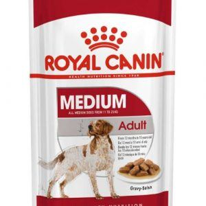 Royal Canin Vådfoder Medium Adult 10x140g