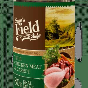 Sam´s Field Kornfri vådfoder Kylling og gulerod