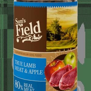 Sam´s Field Kornfri vådfoder Lam og æble 400g