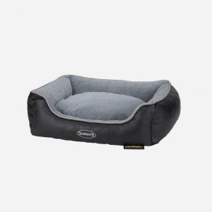 Scruffs® Chateau ortopædiske hundesenge ??? 2 størrelser, Sort / Medium