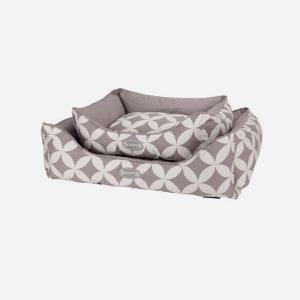 Scruffs® Florence seng til kæledyr i grå - 2 størrelser