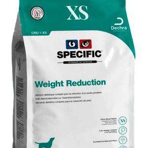 Specific CRD-1 XS Weight Reduction - Hundefoder til små hunde til vægttab - 3 x 1,6 kg.