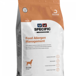 Specific - Foderallergi - hydrolyseret hundefoder CDD-HY 7kg