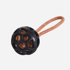TPR Bold med Rebhåndtag - 21cm - Orange/Sort