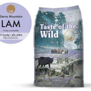 Taste Of The Wild Sierra Mountain Hundefoder - Med Lam - 12,2kg - Kornfrit