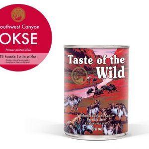Taste Of The Wild Southwest Canyon Hundefoder - Med Okse - 390g - Kornfri - - -