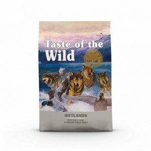 Taste Of The Wild Wetlands Hundefoder - Med And - 12,2kg - Kornfrit