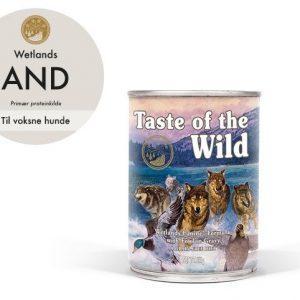 Taste Of The Wild Wetlands Hundefoder - Med And - 390g - Kornfri