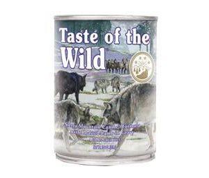 Taste of the Wild Sierra Mountain, 390 g vådfoder