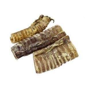 Tørrede struber fra okse, sund velsmagende snack