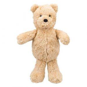 Trixie Hundelegetøjs Bamse Bjørn i Plys - 30cm - Med Pivelyd - - - - -