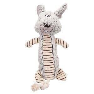 Trixie Hundelegetøjs Kanin i Polyester og TPR - 35cm - Med Pivelyd