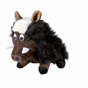 Trixie Hundelegetøjs Plys Vildsvin - 25cm - Med Lyd & Knitre
