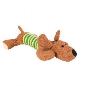 Trixie Hundelegetøjs Plysbamse Terry Frotte i Nylon - 28cm - Med Lyd - - - -