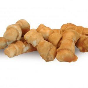 Tyggeben ca. 5-10 cm til små hunde med lækker kylling med 92% kyllingebrystfilet - Low Fat