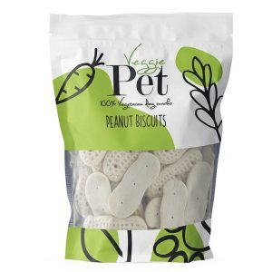 VeggiePet Peanut Biscuits 100g