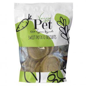 VeggiePet Sweet Potato Biscuits 100g
