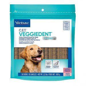 Virbac veggiedent Large 15 stk - Velegnet til hunde på over 30 kg.