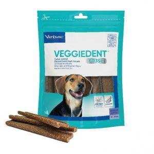 Virbac veggiedent medium pk med 15 stk - Velegnet til hunde mellem 10-30 kg.
