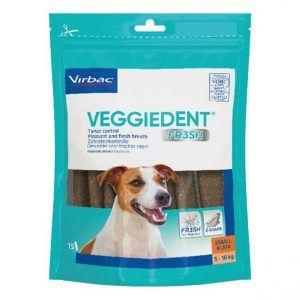 Virbac veggiedent small 15 stk - Velegnet til hunde mellem 5-10 kg.