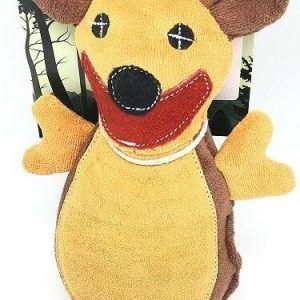 Whesco Tuff Hundelegetøjs Bamse Bæver - Med Mesh Forstærkning - 38cm - Miljøvenlig