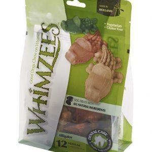 Whimzees Alligator tyggeben medium 12stk
