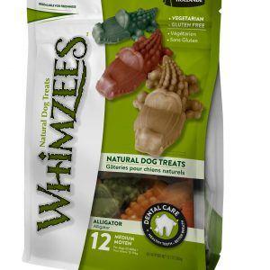 Whimzees alligator Large - dental treats, til hunde