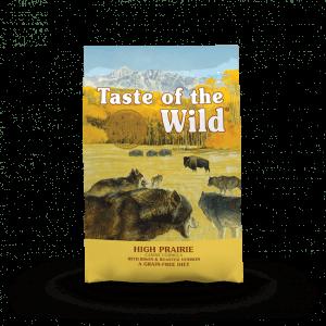 Wild High Prairie Bison 12,2 kg - Taste of the Wild - M/GRATIS LEVERING OG GRATIS GODBIDDER