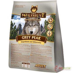 WolfsBlut Grey Peak Adult med ged & hest, 2 kg