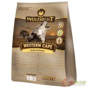 WolfsBlut Western Cape Adult med struds, 2 kg