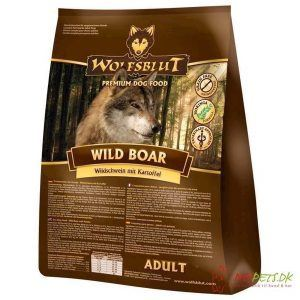 WolfsBlut Wild Boar Adult med vildsvin, 2 kg