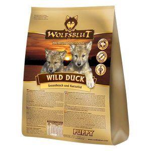 WolfsBlut Wild Duck PUPPY, med and, 2 kg