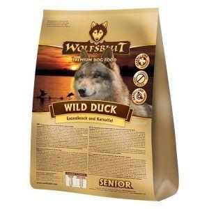 WolfsBlut Wild Duck SENIOR, med and, 15 kg