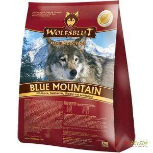 Wolfsblut Blue Mountain Adult med råvildt, 2 kg
