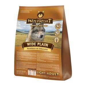 Wolfsblut Wide Plain LIGHT Adult, med hest, 15 kg