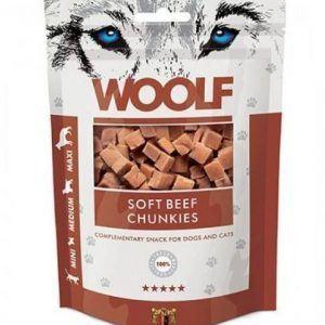 Woolf Grainfree Beef Chunkies 100g