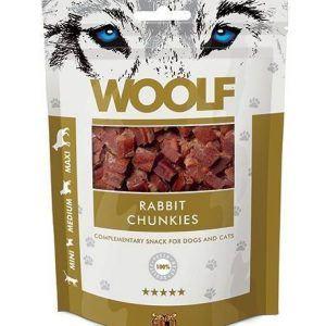 Woolf Grainfree Rabbit Chunkies 100g