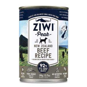 ZiwiPeak Dog dåsemad Beef, 390g